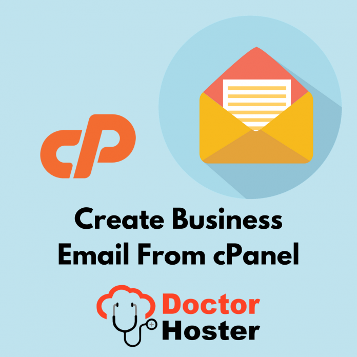 create business email from cPanel