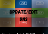 How to update/edit DNS zone in cPanel