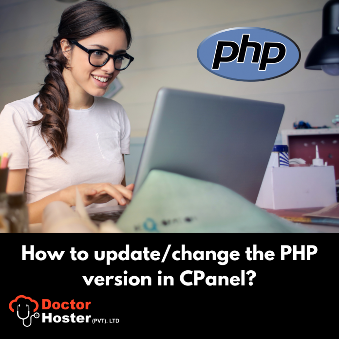 How to change PHP version or setting